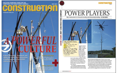 Irby Featured on Cover of Construction Today Magazine